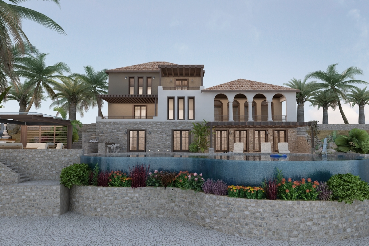 Купить недвижимость виллу в греции недорого на берегу моря