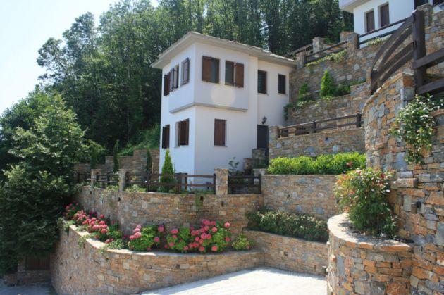 Недорогой дом в остров Фессалия у моря